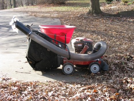 Craftsman chipper shredder vacuum